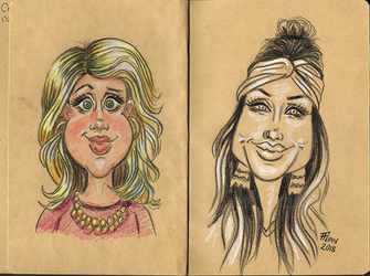 Caricatures by TheTruthLiesWithin