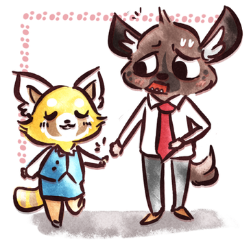 hold hands by coffeebandit