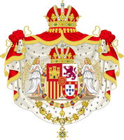 Coat of Arms of the United Kingdom of Iberia by HouseOfHesse