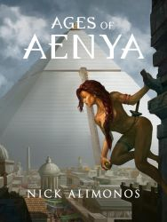 Ages of Aenya Book Cover by AGEOFAENYA