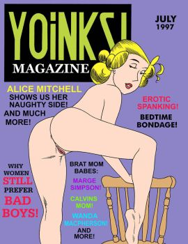 Alice Mitchell YOINKS! Magazine 2018 by sethereid