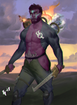 Jax, The Ultimate Galactic Emissary by MG-Sentinel