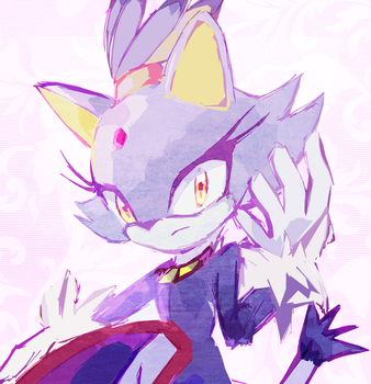 Request: Blaze the Cat by MegumiNoLove
