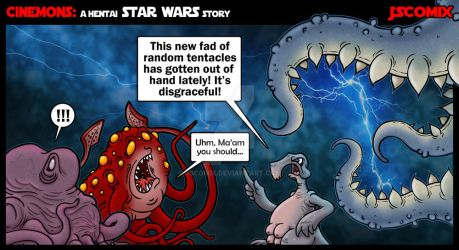 CineMons: A Hentai Star Wars Story by JSComix