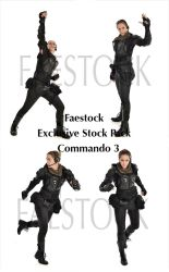 Commando  - Exclusive Stock Pack 3 by faestock
