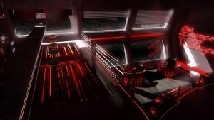 Space Lounge Rouge by Siamon89