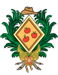 Apple Jack Coat of Arms by Lord-Giampietro