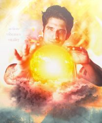Scott Mccall as The Sun [Teen Wolf Planets] by DaisyChan55