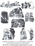 Harry Potter: Book 2 Chapter 4 Vignette Drawings by TheGeekCanPaint