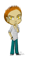 James Danley - Chibi OC by ALittleLady