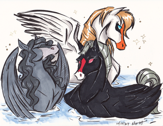 Inktober2017-Graceful by Stray-Sketches