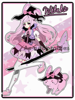 Bunny  witch  adoptable CLOSED by AS-Adoptables