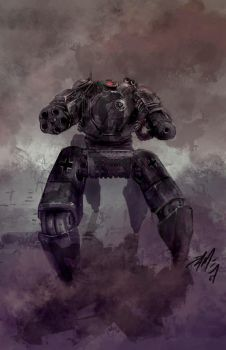German War Mech by D4ME