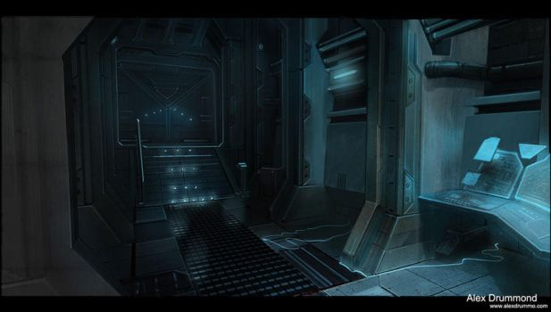 Command center interior 2 by alexdrummo
