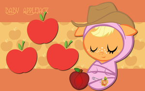New Born Applejack WP by AliceHumanSacrifice0
