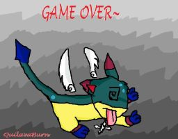 Shido's Game Over by QuilavaBurn
