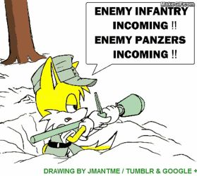 Wehrmacht Tails with Panzerfaust - redo 2 by jmantime-is-Here