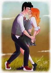 James and Lily Potter by Pridipdiyoren