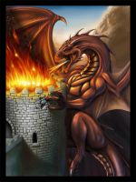 Dragon Attack by EvilFlesh