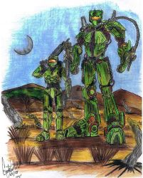 Final Transformers HALO by CJRogue