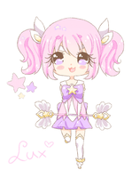 FA | Star Guardian Lux | League Of Legends by CastielTheHalfPigeon