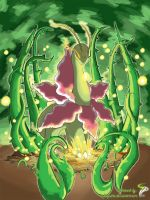MEGANIUM used Frenzy Plant!! by InfinitePieces