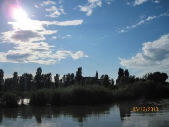 Castle on a Lake by supercilious-zahhy