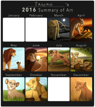 2016 Summary of Art by Tanzani