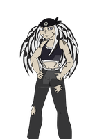 Finished Redesign of Soul Eater OC  by CrimsonGlow