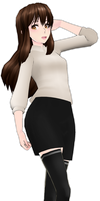 MMD Mystic Messenger MC (not really) by nyehnyehnyehmeow