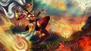Justicar Syndra - LoL Contest by velsen