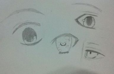 Eyes sketch by alyssa800900