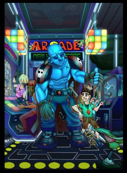 A Day at the Arcade by TheIconicIce-man