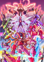 Rockman Zero 1 to 3 by Tomycase