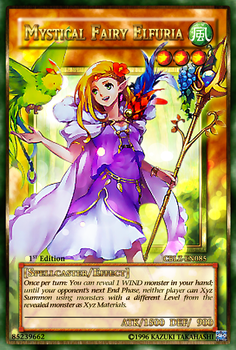 Mystical Fairy Elfuria Full Art Card by Carlos123321
