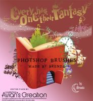Fairy Tale Photoshop Brushes by Coby17