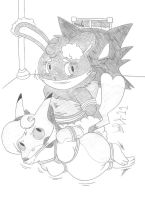 Jennis and AC: Haunter'd House by Limpurtikles