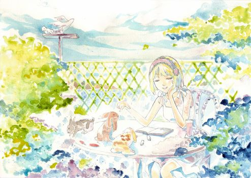 Peaceful day by Risa1