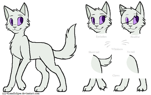 Cat Lineart|Free to use -MUST credit me|READ DESC. by 4LunaEclipse