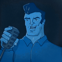 Fan Friday - Velvet Elvis by KahunaBlair