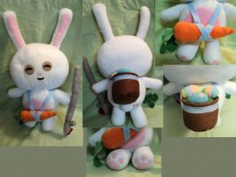 Cottontail Teemo Plushie by XOFifi