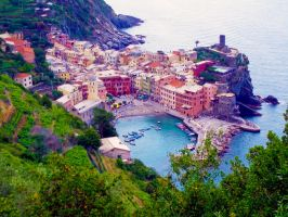 Vernazza by emshore