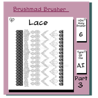 Illustrator Lace brush Part 3 by brushmad