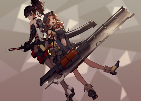 Combat girl by dishwasher1910