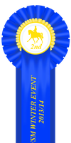 WSM Winter Event Dressage Class 2nd Place by NorthernMyth