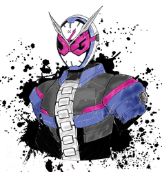 Zi-O Digital Art by NikMuhd87