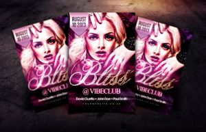 Bliss Flyer Template by Dannygdesigns