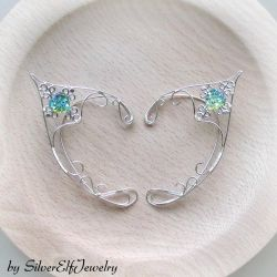 Water Heart elf ears by Lyriel-MoonShadow