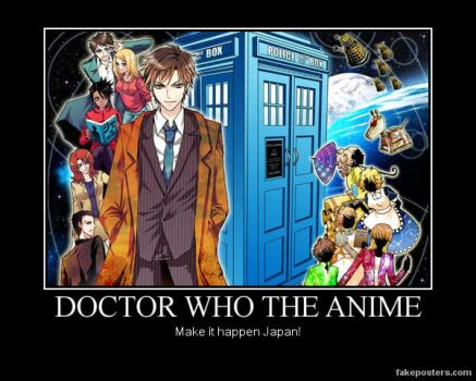 Doctor Who Anime by cwpetesch
