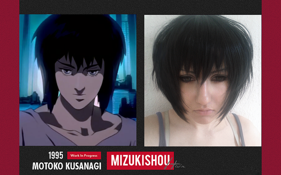 Motoko Kusanagi - Ghost in the Shell 1995 - Test by Mizukishou